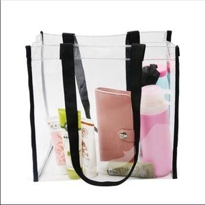 Handbags - Clear Transparent Tote Bag